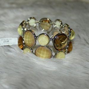 NY&Co bracelet gold and neutral tones